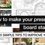 How to make your presentation board stand out? 5 simple tips to improve your architecture panels